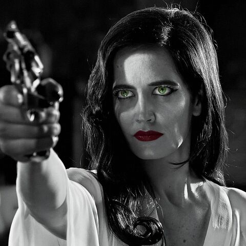 Ava Lord (Eva Green) holds what appears to be a Charter Arms Undercover.