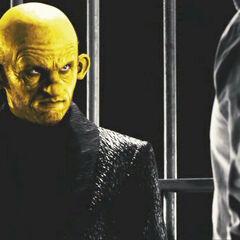 In John's cell.