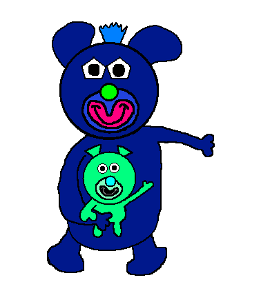 File:Dark blue with mint green baby.png
