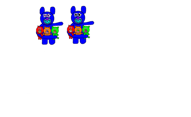 File:Blue with Red, Orange and Green Kitties Evolution.png