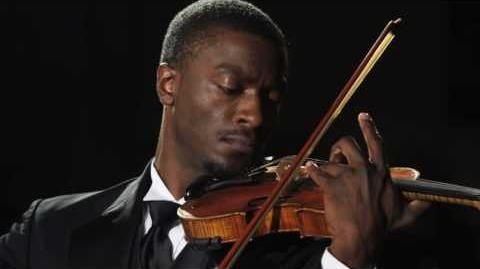 Leverage - Hardison plays Scheherazade violin solo