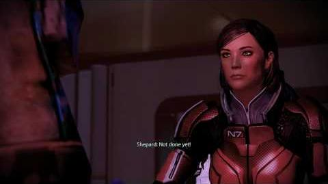 Mass Effect 2 Drunk Shepard