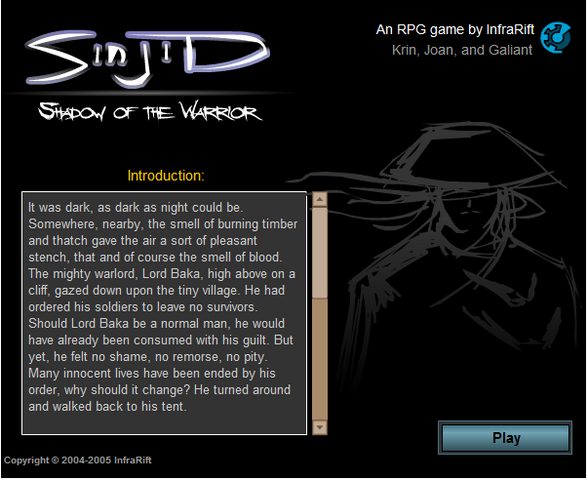 File:Start Screen Sinjid Shadow of the Warrior.png