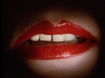 Siouxsie's lips