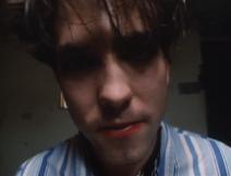 Robert Smith close up