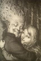 Relda hugging Sabrina