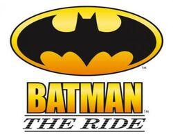 Batman The Ride logo