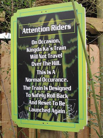 File:Kingda Ka rollback sign.jpg