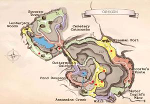 Delphinium locations