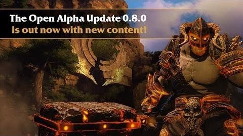 Latest Trailer Open Alpha Update 0.8