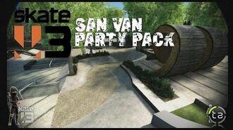 Skate 3 - San Van Party Pack DLC Marraffa's Skatepark OTL