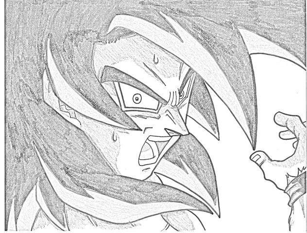 File:SSJ4 Goku Sketch.jpg