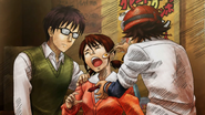 Bossun and Switch force Chiaki to eat an egg