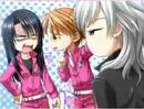 Kanae, Kyoko and Reino in the PS2 Game