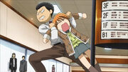 Sawara-san drags Kyoko out