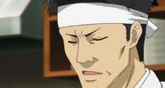 Taisho cooking while talking