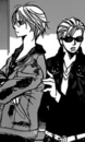 Fuwa and his driver ey