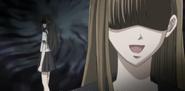 Mio glaring Misao