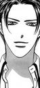 Kijima hidehito smirking at kyoko