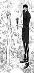 Ren giving kyoko the rose