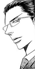 Toudou smirks glasses