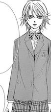 Kyoko mogami standing uniform talkin