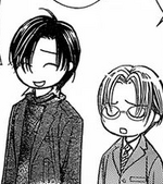 Ren and Yashiro wondering why Lory didn't mention White Day