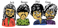 Jack, Rongo, Phil and Greg