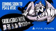 Skullgirls to PS4 and Vita