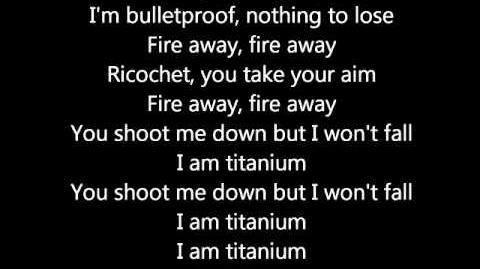 Titanium - David Guetta Lyrics