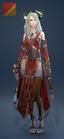 EnchantressRobe Costume Female Front Red
