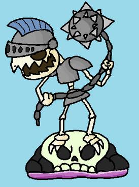 Rolling Bones Figurine