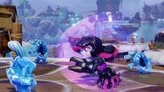Roller Brawl charging through enemies