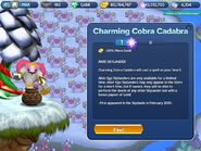 Charming Cobra Cadabra Description