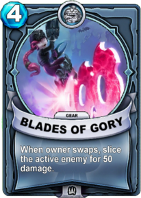 Blades of Gory - Gearcard