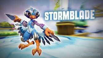 Skylanders SuperChargers - Stormblade's Soul Gem Preview (Feather the Storm)