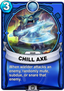 Chill Axe - Gearcard