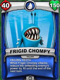 Frozen Teeth - Special Abiliycard