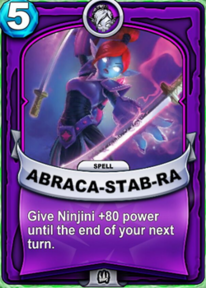 Abraca-Stab-Racard