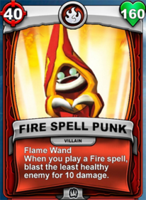 Flame Wand - Special Ability (Gear)card