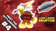 Meet the Skylanders SuperChargers Eruptor and Burn Cycle