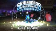 Skylanders Spyro's Adventure Gill Grunt Trailer