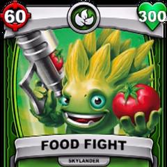 Carta de Food Fight de Skylanders: Battlecast