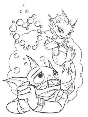 Datei:Gill Grunt and his mermaid love.jpg