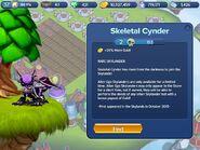 Skeletal Cynder info