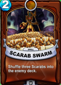 Scarab Swarmcard