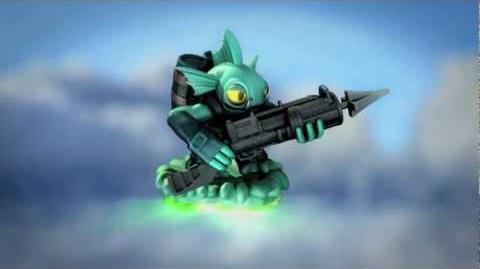 Skylanders Spyro's Adventure GamesCom 2011 Trailer - Gill Grunt