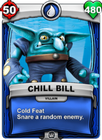 Cold Feet - Special Abilitycard