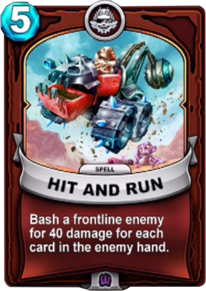 Hit and Runcard