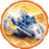 Power Blue Gold Rusher Icon